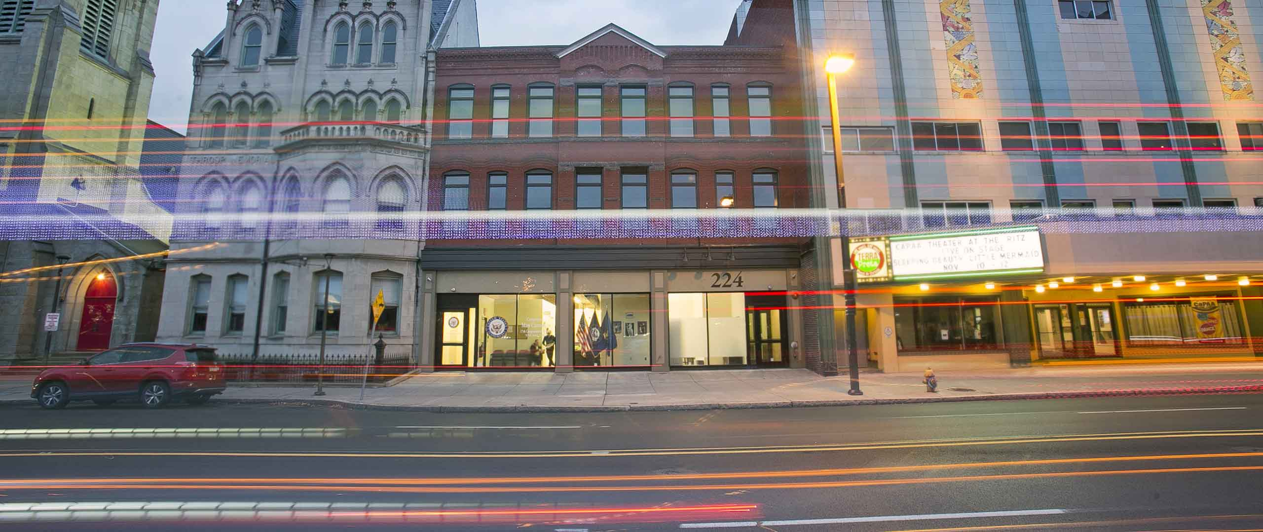 Law offices, professional offices, medical space, and dental offices available at 224 Wyoming Avenue, Scranton, PA
